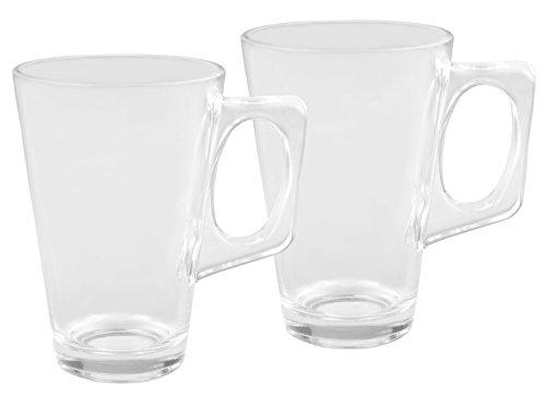 2er Set Glühweingläser Sky Mug - 225ml Glühweinglas / Teeglas mit Henkel
