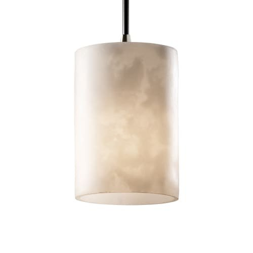 Justice Design Group LumenAria Mini Pendant Light, Brushed (Justice Design Nickel Pendant)