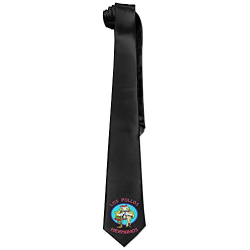 Hermanos Costume Los Pollos (Ggift Los Pollos Hermanos Mens Fashion Business Solid Necktie)