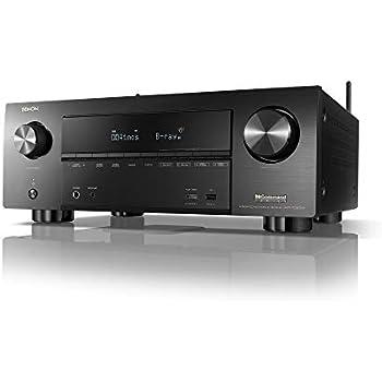 Amazon com: Denon AVR-X8500H Flagship Receiver - 8 HDMI In