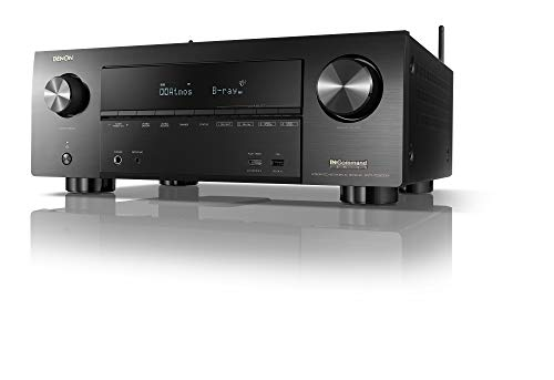 Great Deal! Denon AVR-X3600H UHD AV Receiver | 2019 Model | 9.2 Channel, 105W Each | NEW Virtual Hei...