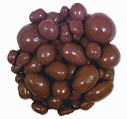 - 16oz Milk Chocolate Covered Almonds Certified Kosher-dairy by Lang's Chocolates