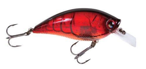 (Yo-Zuri 3DB Squarelip Shallow Floating Lure, Prism Crawfish, 2 3/4-Inch)