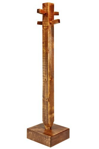 Montana Woodworks Homestead Collection Children's Coat Tree, Stain and Lacquer Finish