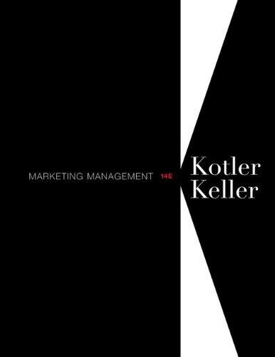 Marketing Management (14th (fourth) Edition)