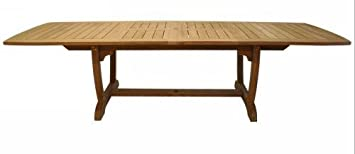 Royal Teak GALA84 84-102-120 in. Gala Expansion Table - Double Leaf