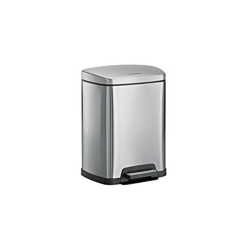 Tramontina Step Can 2.5L-5L Stainless Steel (Various Colors) (Silver)