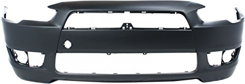 - OE Replacement Mitsubishi Lancer Front Bumper Cover (Partslink Number MI1000319)