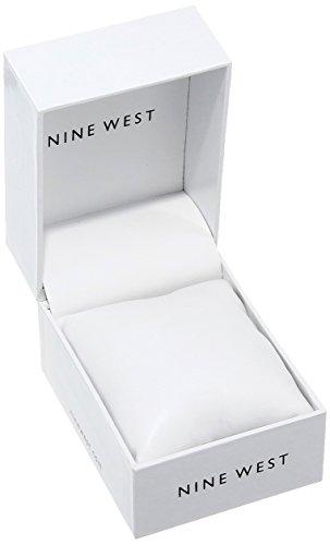 Nine West Women's NW/1981 Sunray Dial Mesh Bracelet Watch 4