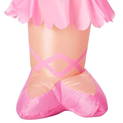 Christmas Unicorn and Ballerina Inflatable Bundle with Inflatable Care Guide Legendary Holiday