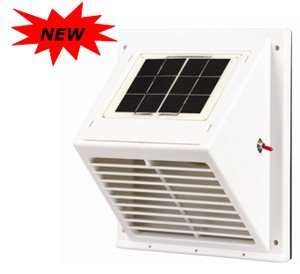 Wall Mountable Solar Ventilator Sunventor Swf 103 Day