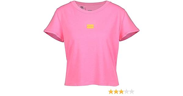 Camiseta Levis Graphic Surf Rosa Mujer S Rosa: Amazon.es: Ropa