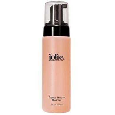 - Jolie Papaya Enzyme Cleanser - Exfoliating Gentle Foaming Face Wash w/ Natural Enzymes - 7 oz.