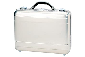 a7de59767b9f TZ Case International Tz Molded Aluminum Attache Case, Silver, 18 X 13 X 5