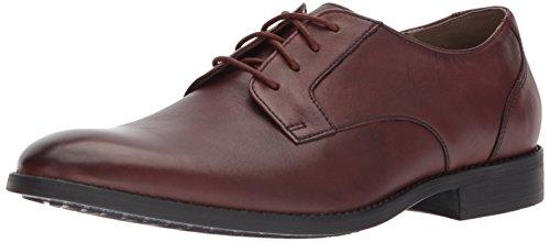 Bostonian Men's Garian Plain Oxford, British tan Leather, 10 Medium US
