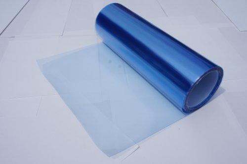 Headlights, Tail Lights, Fog Lights Tint Vinyl Film, Self Adhesive (Small 12X48, Frozen Light Blue)