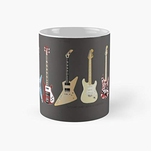 gocontigo - GUITARS Mug 11 Oz White Ceramic