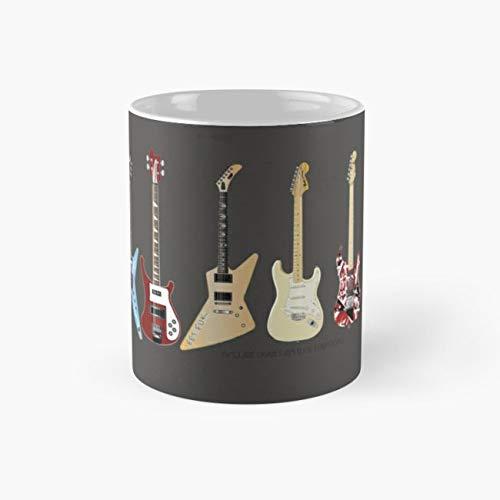 GUITARS Mug, guitar Cup, 11 Ounce Ceramic Mug, Perfect Novelty Gift Mug, Funny Gift Mugs, Funny Coffee Mug 11oz, Tea Cups 11oz