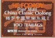 Foojoy China Classic Min-nan Oolong (Wulong) Tea, 2g X 100 Teabags,