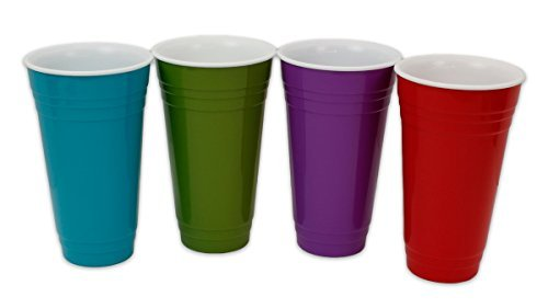 (Kitchen Collection 34OZ Insulated Cup - Assorted Colors -)