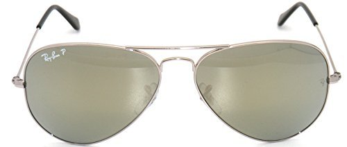 30d4ebb467 Authentic Ray-Ban Aviator RB 3025 003 59 Silver   Silver Mirror Polarized  58mm