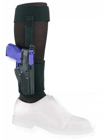 Gould & Goodrich B816-G27 Gold Line Ankle Holster Plus Garter (Black) Fits GLOCK 26, 27, 33, 39 by Gould & Goodrich