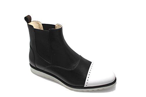 Smythe & Digby Menns Kile Såle Lær Chelsea Boots