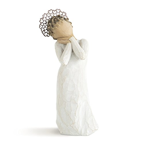 (Willow Tree hand-painted sculpted angel,  Angel Love)