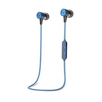 SYW Auricular Bluetooth Stereo 4.2 Auricular inalambrico movil General propuesta Corriendo Cuello Colgando Auriculares Aptos para Ciclismo Fitness,B: ...