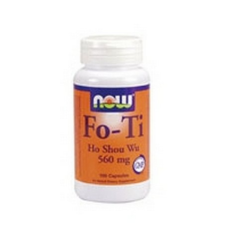 NOW Foods Fo-Ti,  Ho Shou Wu, 560mg, 100 Capsules, Health Care Stuffs