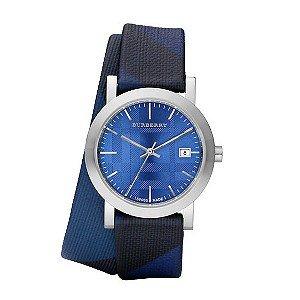 burberry blue watch