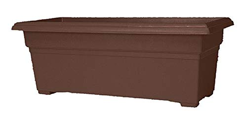 Novelty Patio Planter, 12-Inch x 27-Inch, Brown ()