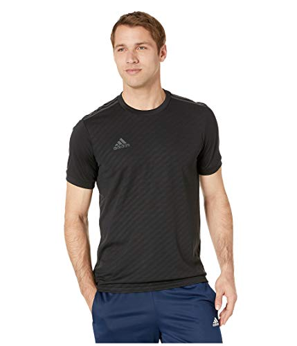 adidas Men's Alphaskin Tiro Jersey, Black/Carbon Pearl Essence, XX-Large