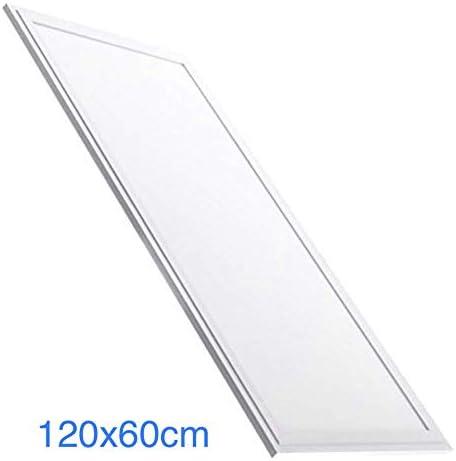 Panel LED Slim 120x60 cm. 72W. Color Blanco Frío (6500K). 6200 lumenes. Driver incluido. A++