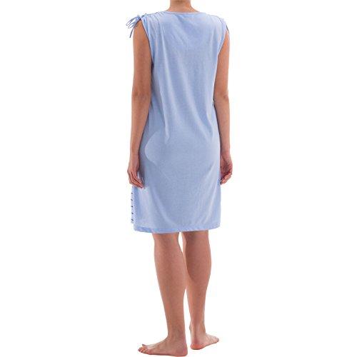 zeitlos - Camisón - para mujer azul claro