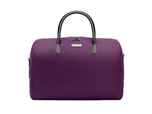 Archer Brighton Ella Canvas Weekender Travel Bag (Bilberry)