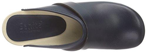 Sanita Sandals Open Leather PU Rita Womens Blue FxqPF7U6