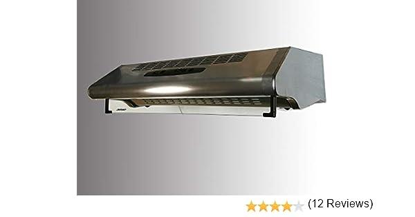 Campana filtrante Jetair Mod. FS302/50 1M INX AL. Ancho 50 cm (tipo de aspiración convertible (1 filtro de carbón activo incluido): Amazon.es: Grandes electrodomésticos