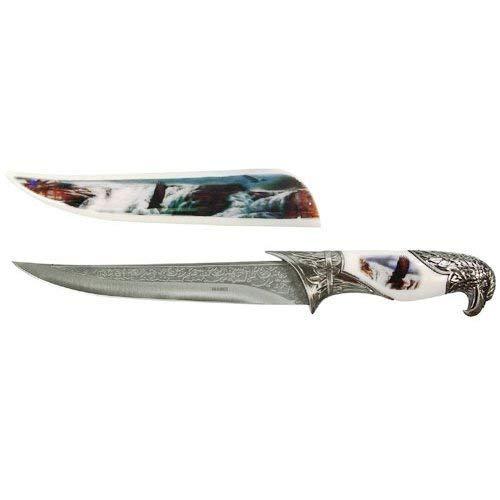 Eagle Dagger - MysticalBlades White Eagle Fantasy Dagger Bowie Knife w/Sheath