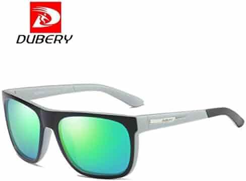 c95e7c30be DUBERY New Sunglasses Men s Polarized Sunglasses Outdoor Driving Men Women  Sport Frame Fishing Hunting Boating Glasses