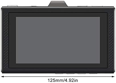 3.0 Inch Night Vision IPS Screen Driving Recorder Metal Case