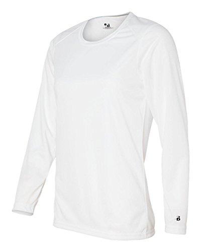 badger-sportswear-womens-b-dry-long-sleeve-performance-tee-white-small
