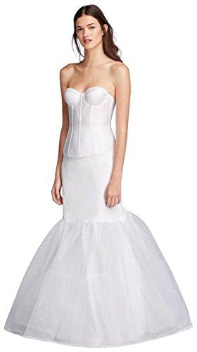 A-Line Silhouette Slip Style ALINESLIP, White, - Silhouette Bridal
