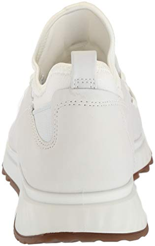 Top ECCO 1007 White Women's Trainers White Hi St 1 wqCqgxT
