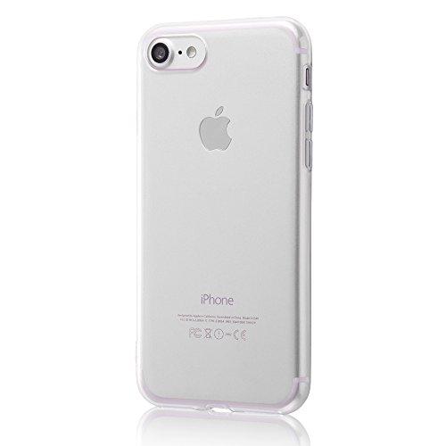 対角線方程式折り目レイ?アウト iPhone7 ケース TPUソフトケース ウルトラクリア/クリア RT-P12TC3/C