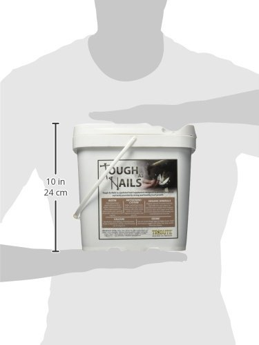 Tribute-Equine-Nutrition-Tough-As-Nails-11lbs-Pelleted-Hoof-Supplement-Bucket-1