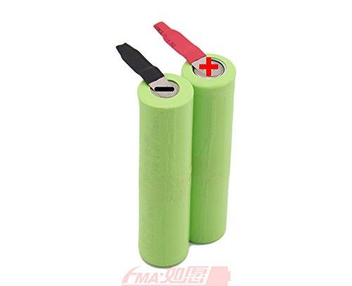 Shaver Razor Rechargeable Battery 2/3Aa 4.8V 700Mah W/Tabs ()
