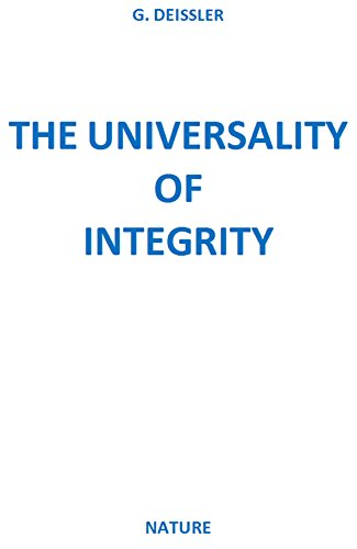 THE UNIVERSALITY OF INTEGRITY