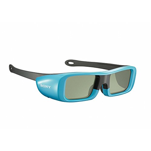 Sony TDG-BR50/L Youth Size 3D Active Glasses, Blue by Sony