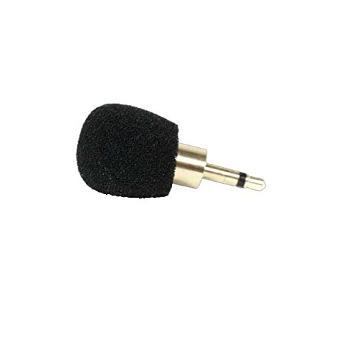 Williams Sound MIC 014-R plug Mount Microphone; Can be used with PockeTalker, DigiWave DLT transceivers or T2863 FM Transmitter; 3.5mm mono plug; Omnidirectional condenser - Electret Condenser Mono Microphone